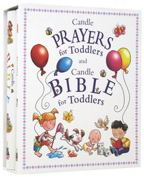 Candle Bible and Prayers Gift Set (Candle Bible For Toddlers Series)