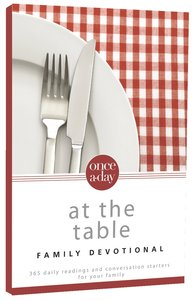 Once-A-Day At the Table Family Devotional (Nirv)