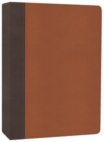 HCSB the Mission of God Study Bible Brown/Tan