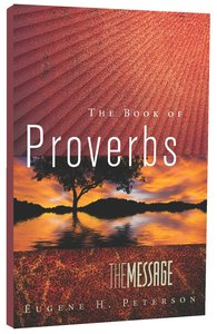Message Book of Proverbs (Black Letter Edition)