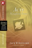 Acts (Spirit-filled Life Study Guide Series)