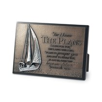 Small Moments of Faith Plaque Sailboat the Plans