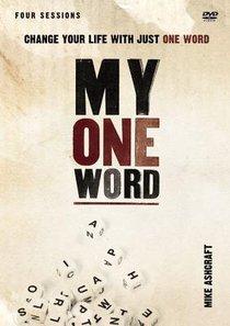 My One Word (Dvd Study)