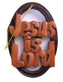 Wooden Hanger: Jesus is Lord