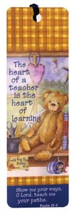 Tassel Bookmark: The Heart of a Teacher
