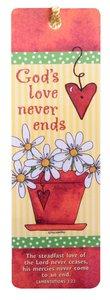Tassel Bookmark: Gods Love Never Ends