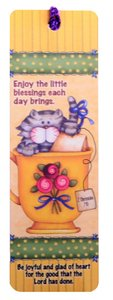 Tassal Bookmark: Enjoy the Little Blessings