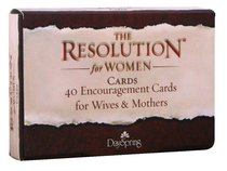 Courageous: The Resolution Daily Encouragement Cards For Women, 40 Cards