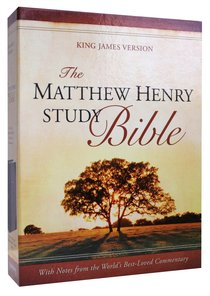 KJV Matthew Henry Study Bible Indexed Blue/Grey