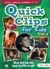 Quick Clips For Kids: Videos That Help Apply the Bible to Life Volume 2