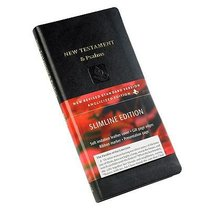 NRSV Slimline New Testament and Psalms Black