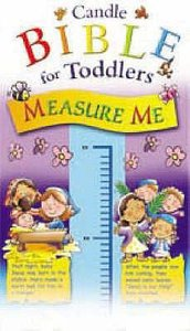 Measure Me Chart (Candle Bible For Toddlers Series)