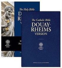 Douay-Rheims Bible Blue
