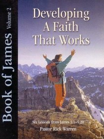 Book of James (DVD) (Volume 2) (#02 in Developing A Faith That Works Series)