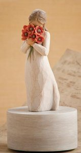 Willow Tree Musical Figurine: Surrounded By Love