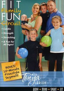 Fit Family Fun Circuit With Tonya Larson (47 Mins)