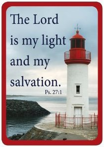 Friendship Magnet: The Lord is My Light, Psalm 27:1