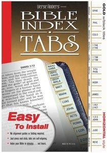 Bible Tabs Verse Finders Gold (Horizontal)