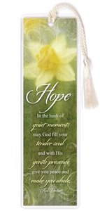 Hope Collection: Bookmark - Hope Yelllow