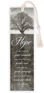 Hope Collection: Bookmark - Hope Black & White