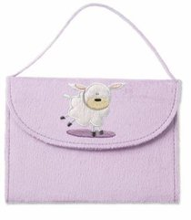 NIRV My Little Purse Bible Purple Lamb
