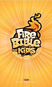 NKJV Fire Bible For Kids Paperback