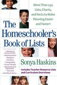 The Homeschoolers Book of Lists