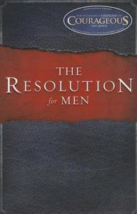 The Resolution For Men (Unabridged, Mp3)