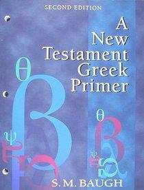 New Testament Greek Primer