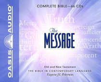 Message Complete Bible on Audio CD (66 Cds)