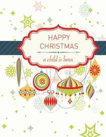 A Child is Born: Christmas Card Tear-Off Pad (35 Cards)