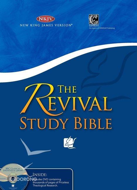 NKJV Revival Study Bible Burgundy