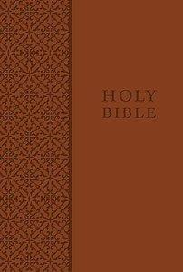 KJV King James Study Bible Personal Size Leathersoft Auburn