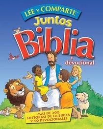 Lee Y Comparte Juntos Biblia Y Devocional (Lee & Shares Together Bible And Devotion)
