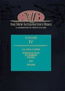 Job-Psalms (#04 in New Interpreters Bible Series)