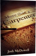 More Than a Carpenter NIV (Pack of 25)