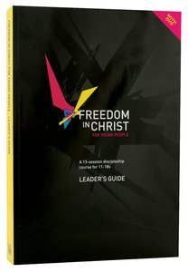 Freedom in Christ For Young People (DVD With Leaders Guide) (Freedom In Christ Course)