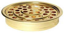 """Communion Tray: Brasstone 40 Cup Holder (Rw-500ab) (Cover Not Included) (12"""")"""