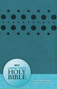NIRV Large Print Bible Teal