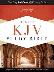 KJV Study Bible Mantova Black Simulated Leather (Indexed)