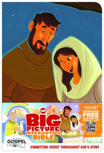 HCSB the Big Picture Interactive Bible For Kids Jesus Leathertouch