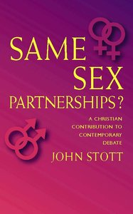 Same Sex Partnerships?