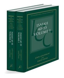 Isaiah 40-55 (Volume 1 & 2) (International Critical Commentary Series)