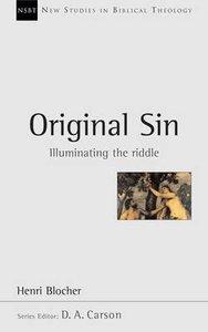 Original Sin (New Studies In Biblical Theology Series)