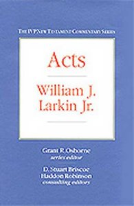 Ivp Ntc: Acts (Ivp New Testament Commentary Series)