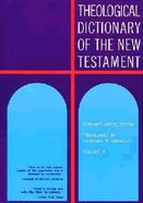 Theological Dict NT (Volume 2) (Theological Dictionary Of The New Testament Series)