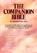 KJV Companion Bible, The Burgundy