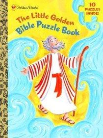 The Little Golden Bible Puzzle Book (Golden Books Series)