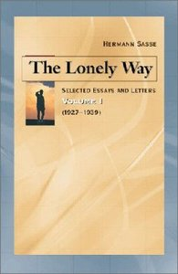 The Lonely Way (Vol 1)