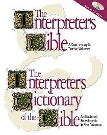 Interpreters Bible and Dictionary CDROM